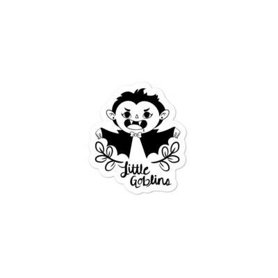 Little Goblins Vampire Boy Sticker