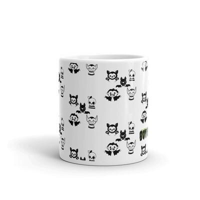 Boy Mom Pattern Mug