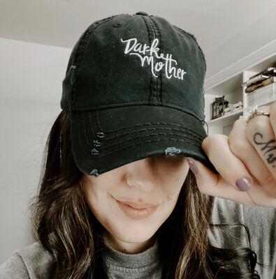 Distressed Dark Mother Hat