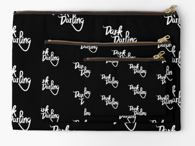 Dark Darling Cosmetic Pouch