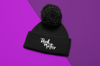 Dark Mother Pom-Pom Beanie