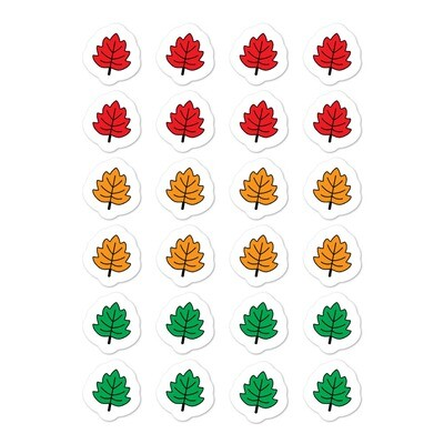 Fall Leaves Sticker Set