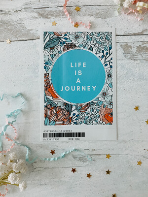 Life is a Journey Sticker