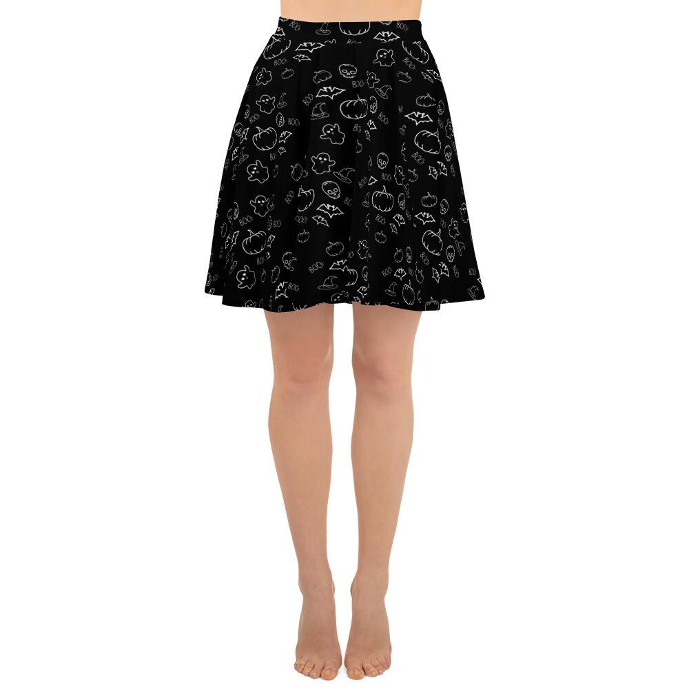 All-Hallows Eve Skater Skirt
