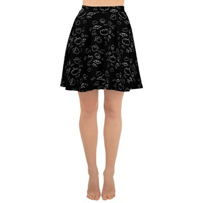 All-Hallows Eve Skater Skirt
