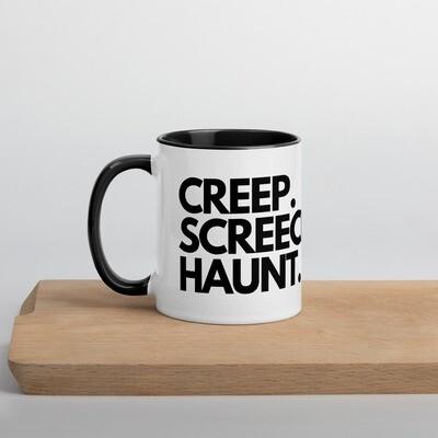 Creep. Screech. Haunt. Mug