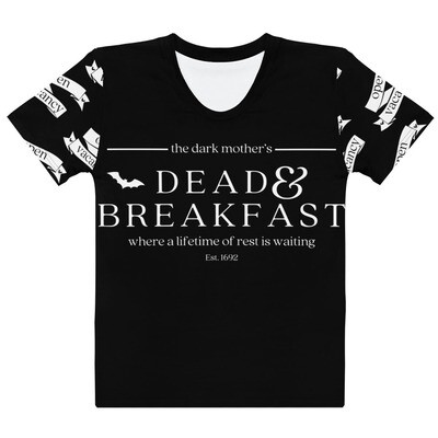 The Dark Mother's Dead & Breakfast Tee (Black)