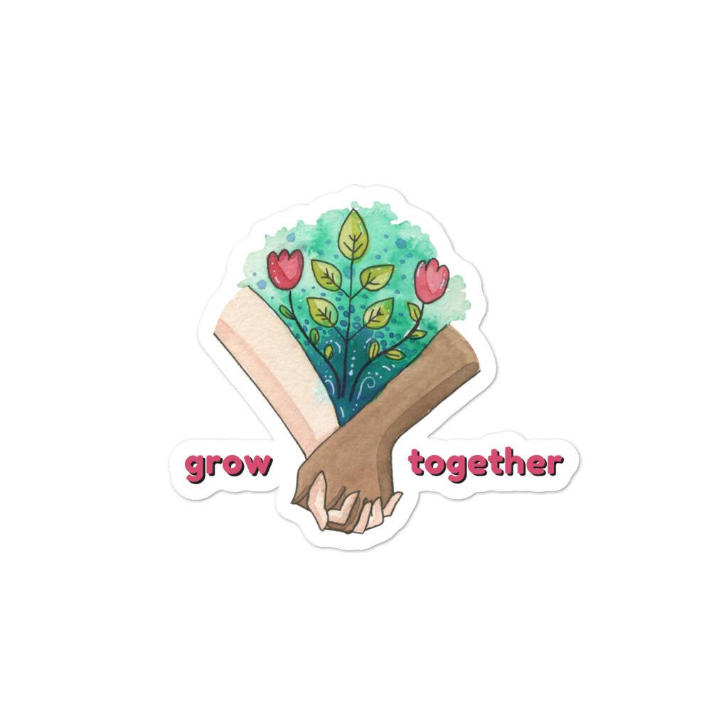Grow Together Sticker