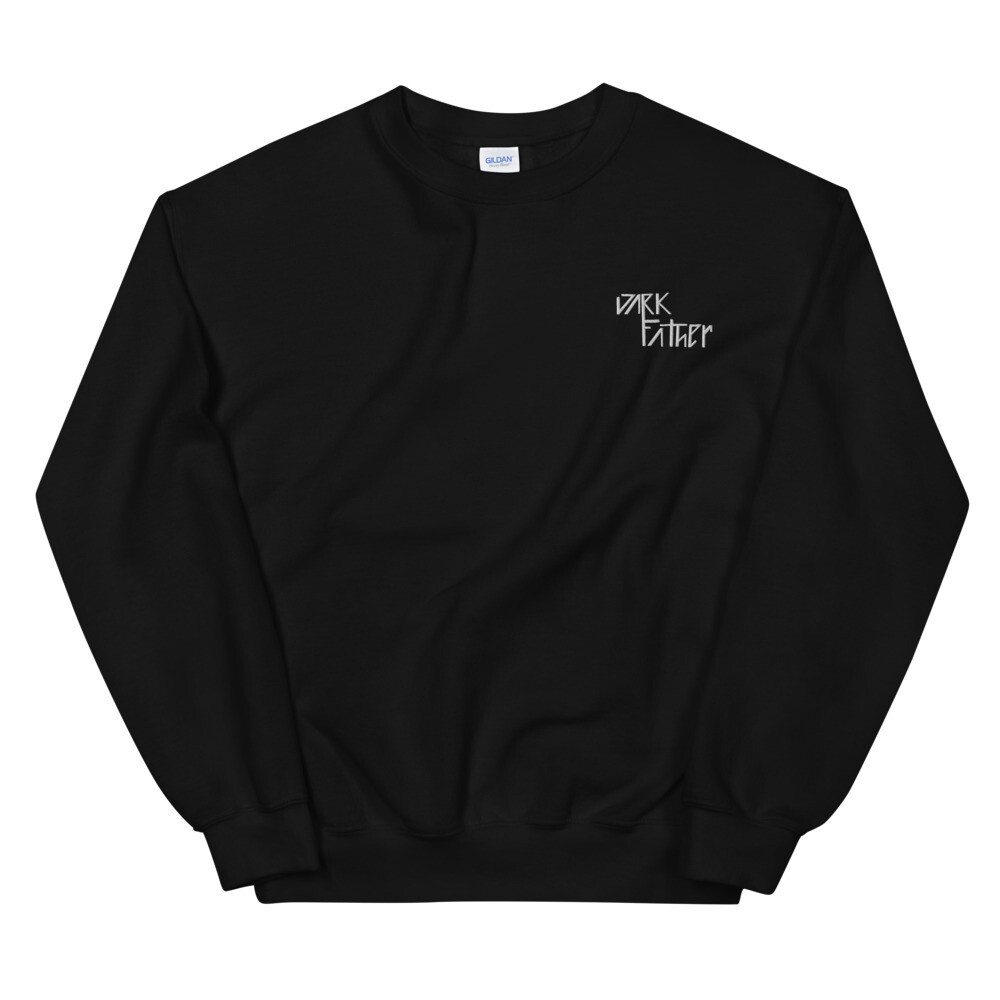 Dark Father Embroidered Sweater