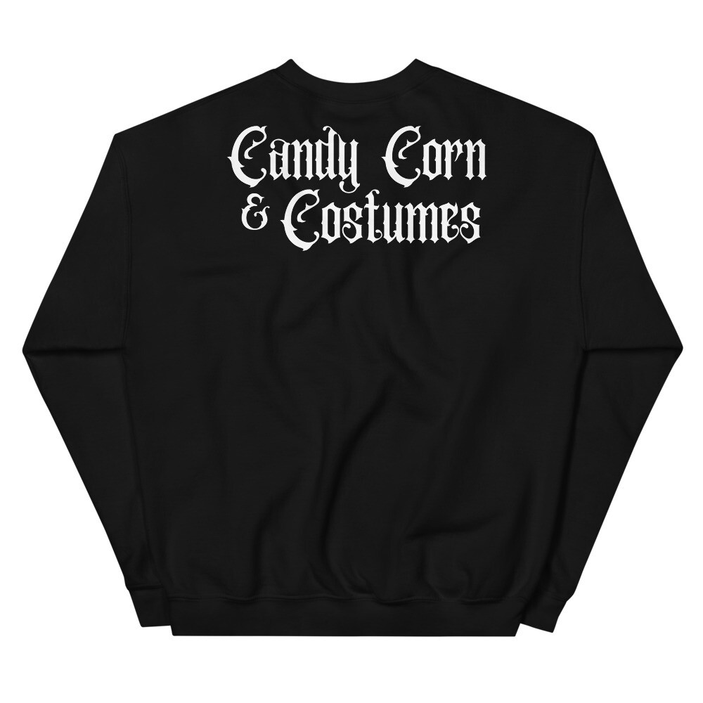 Candy Corn & Costumes Sweater