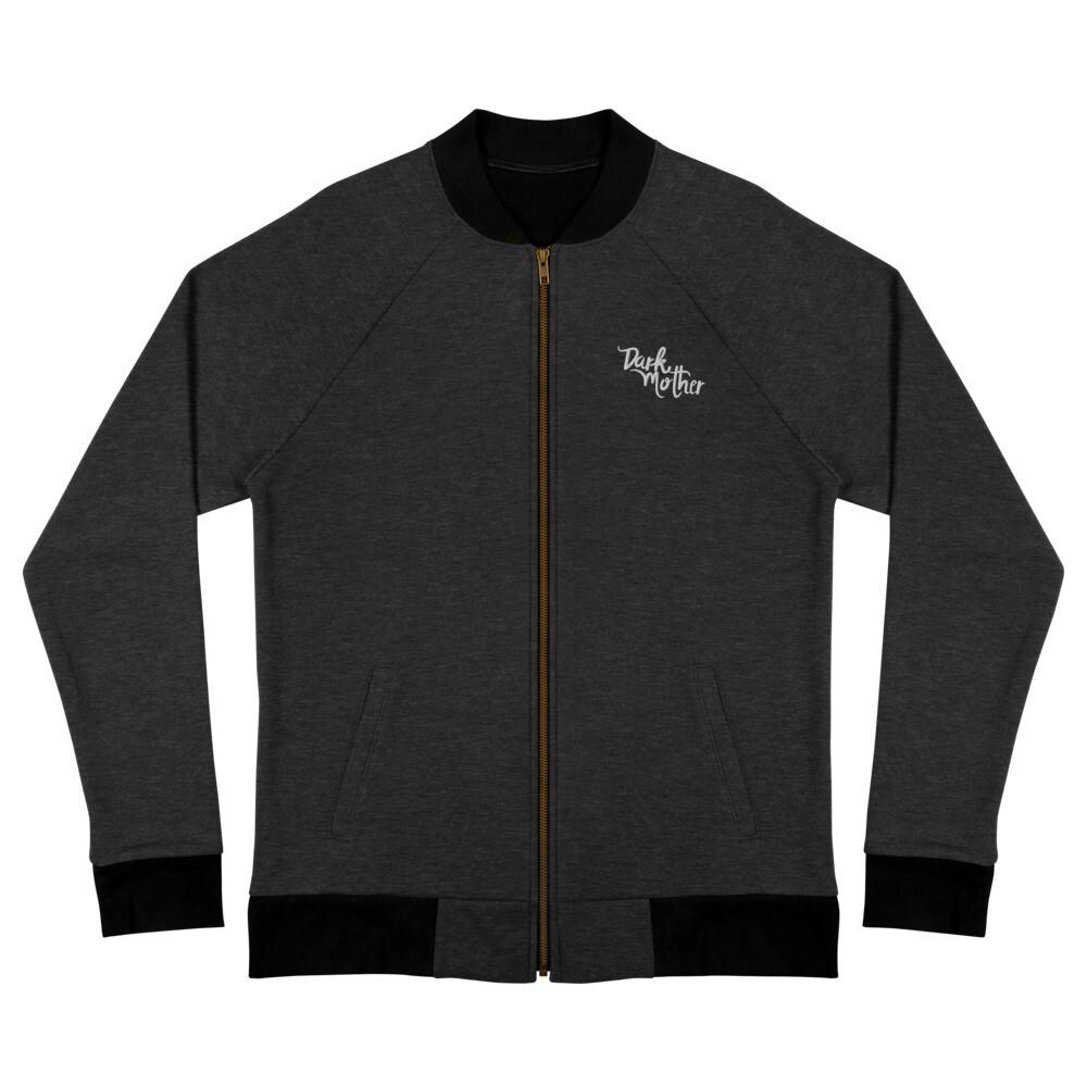 Dark Mother Embroidered Bomber Jacket