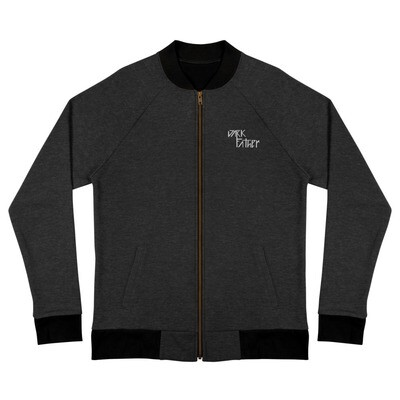 Dark Father Embroidered Bomber Jacket