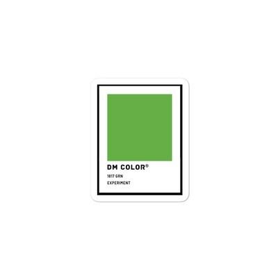 DM Color Swatch Sticker: Experiment
