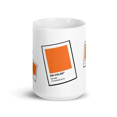 It's Pumpkin Bitch Color Swatch Mug