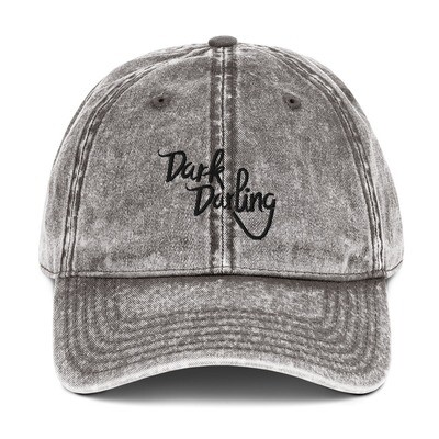 Dark Darling Vintage Wash Hat