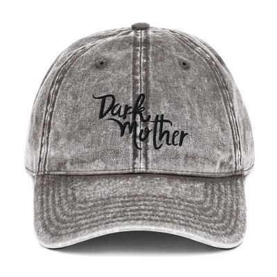 Dark Mother Vintage Wash Hat