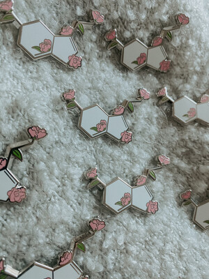 PREORDER: Serotonin Enamel Pin