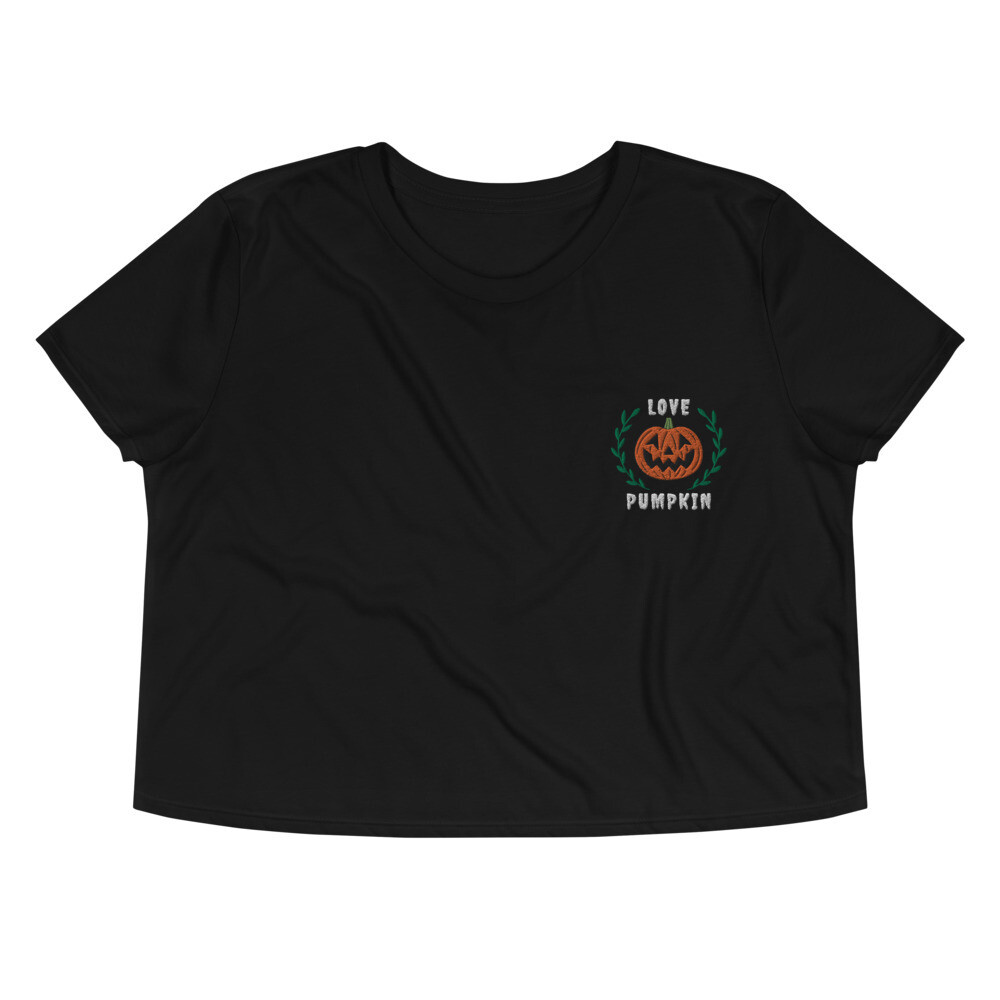 Love Pumpkin Crop Top