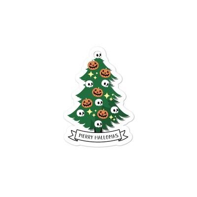 Merry Hallomas Sticker