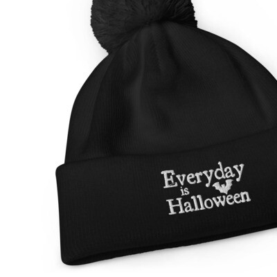 Everyday is Halloween Pom Pom Beanie