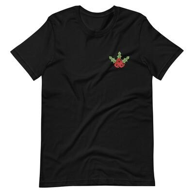Mistletoe Embroidered Tee