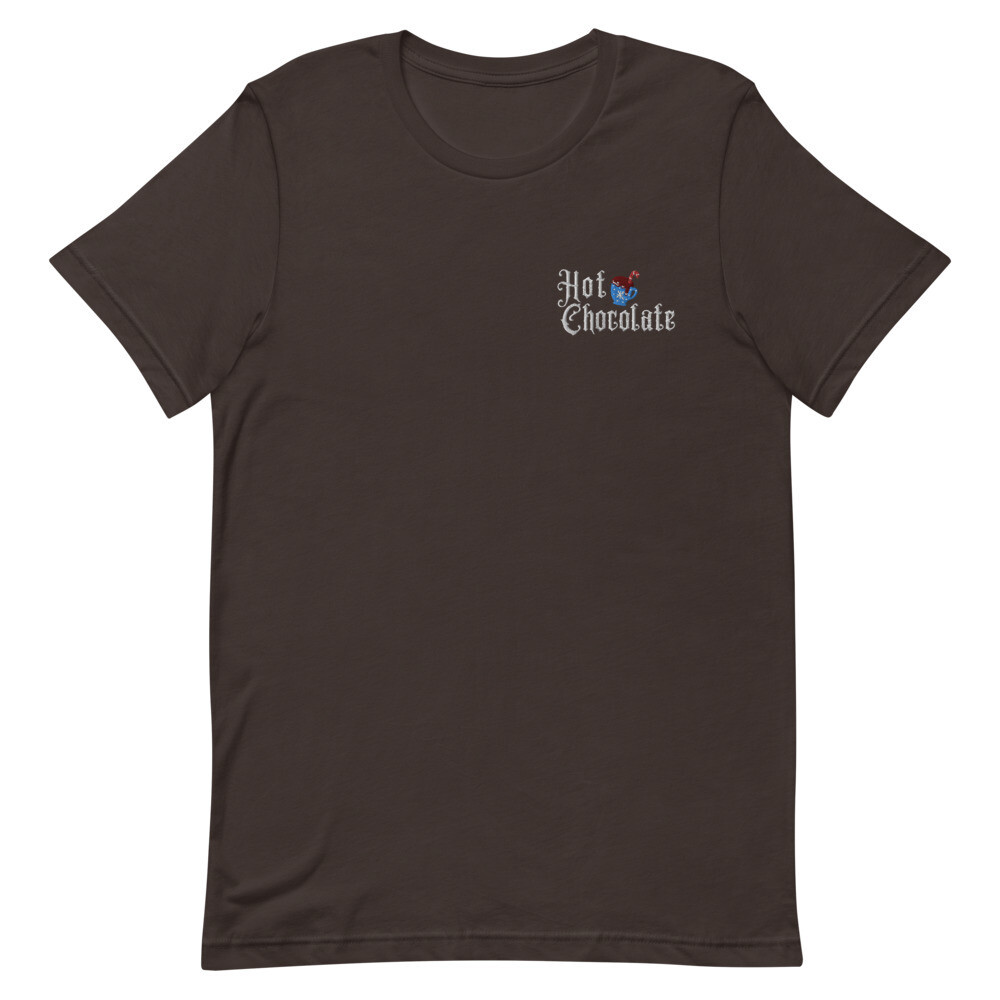 Hot Chocolate Embroidered Tee