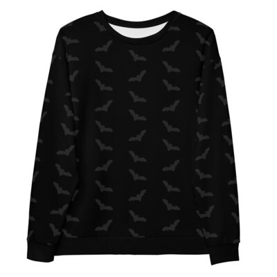 Batty About You Sweater - Black on Black