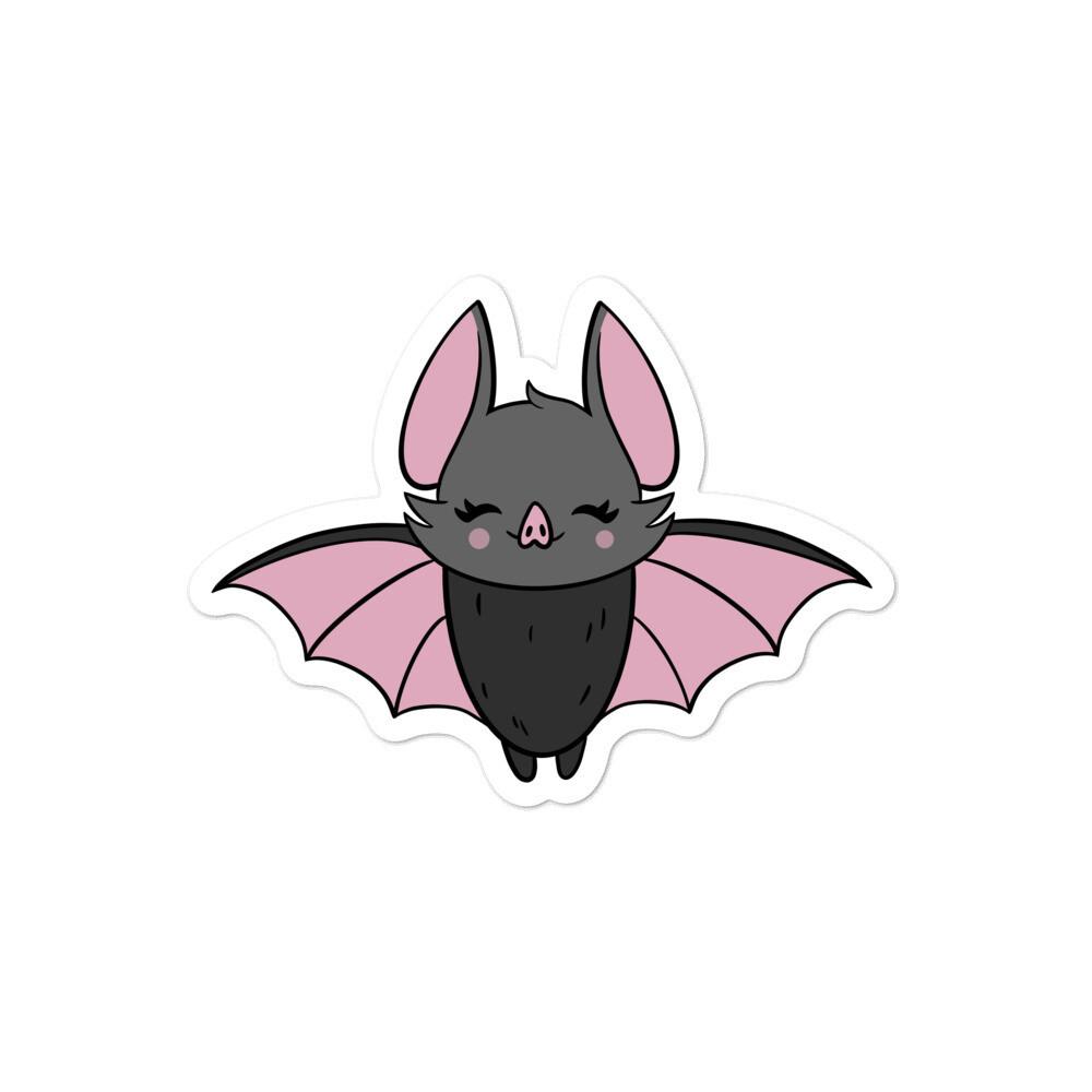 Wednesday Bat Sticker