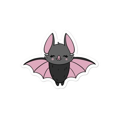 Wednesday Bat Sticker