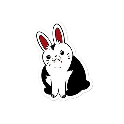 Van Fluffsing Bunny Sticker
