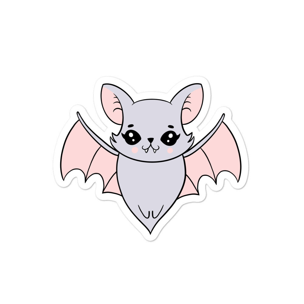 Luna Bat Sticker