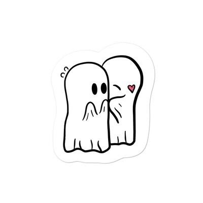 Ghost Kiss Sticker