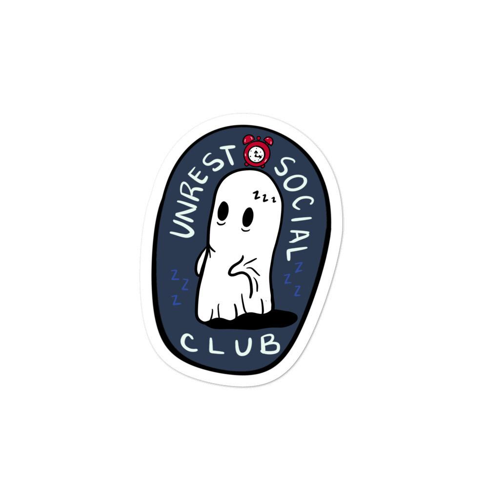 Unrest Social Club Sticker