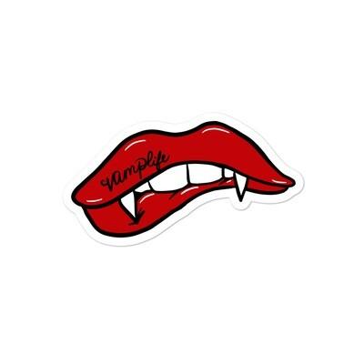 Vamp Lips Sticker