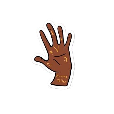 Fortune Teller Hand Sticker