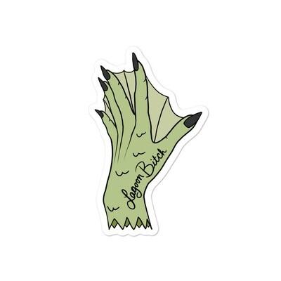 Lagoon Bitch Monster Hand Sticker
