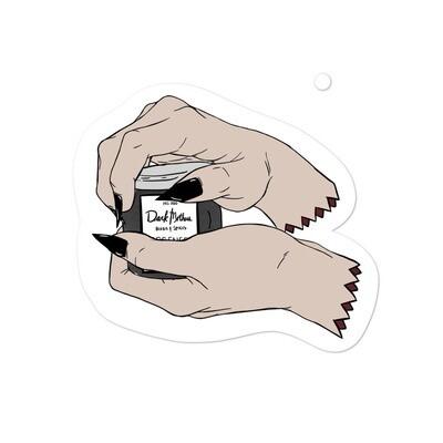 Dark Mother Hand Sticker
