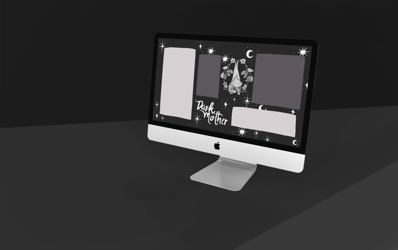 Dark Mother Desktop Wallpaper