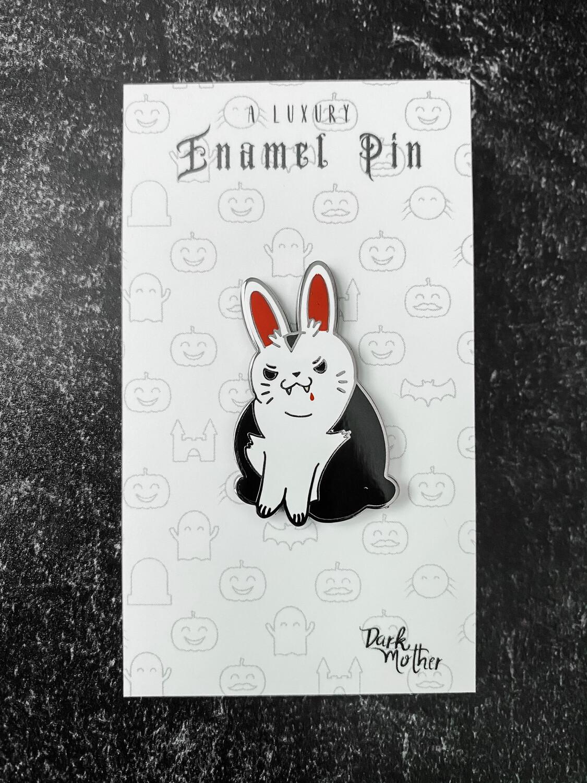 Van Fluffsing Bunny Enamel Pin