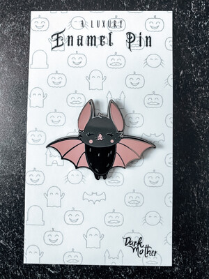 Wednesday Bat Enamel Pin