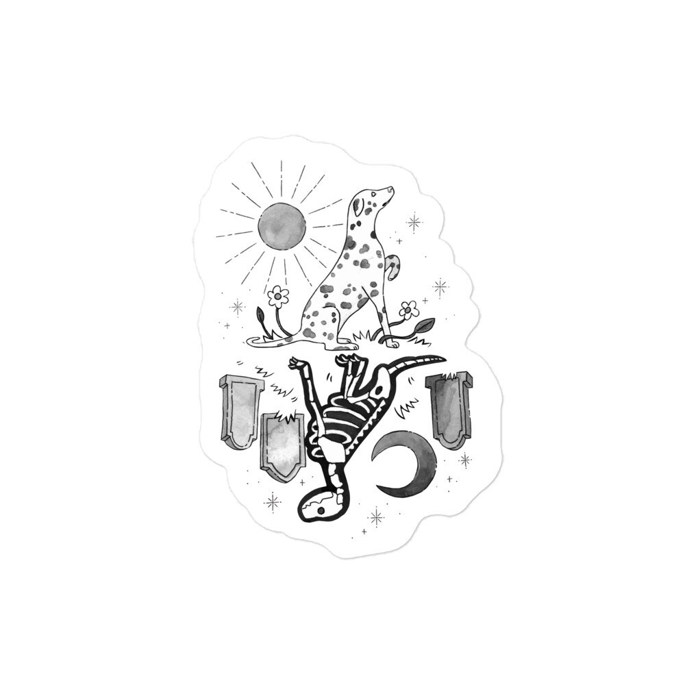 Critter Folk Sticker - Dalmatian