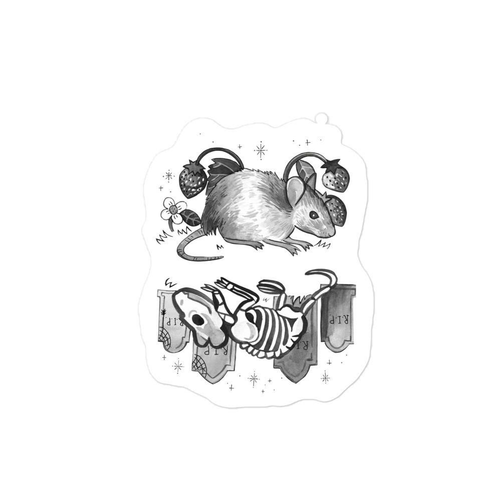 Critter Folk Sticker - Mouse