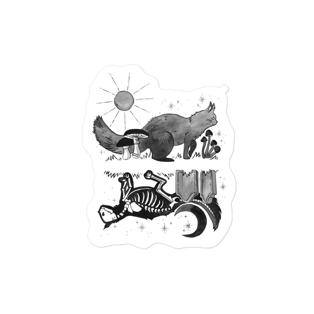 Critter Folk Sticker - Cat