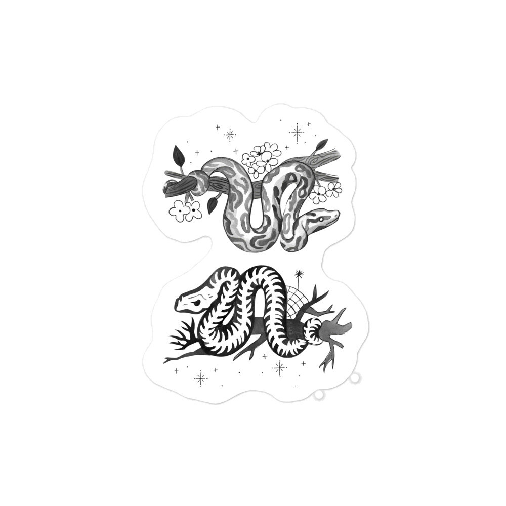 Critter Folk Sticker - Snake