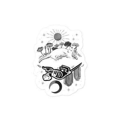 Critter Folk Sticker - Ferret
