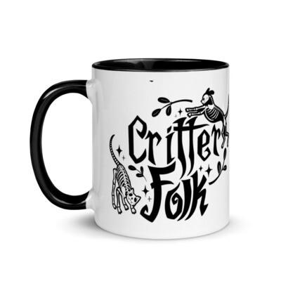 Critter Folk Collection Mug - Dog & Cat