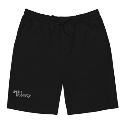 Dark & Dastardly Men's Fleece Shorts