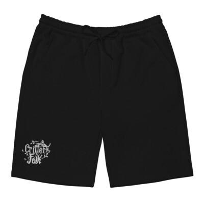Critter Folk Men's Fleece Shorts - Cat & Dog