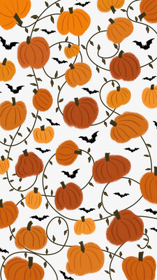 Pumpkin iPhone Wallpaper