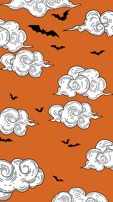 Bats In The Sky iPhone Wallpaper